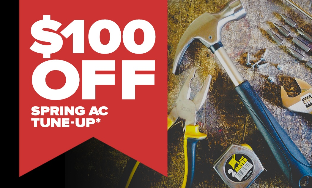 $100 off spring tune up