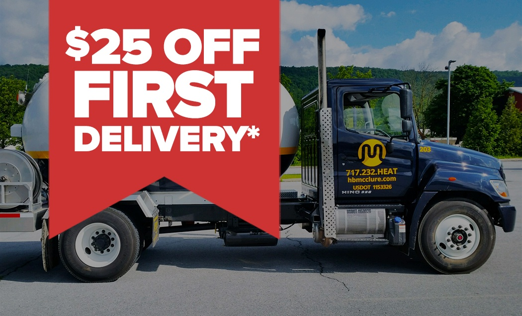 Save $25 On First Propane Or Fuel Oil Delivery