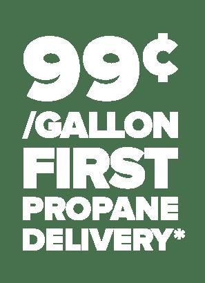 99 cent per gallon