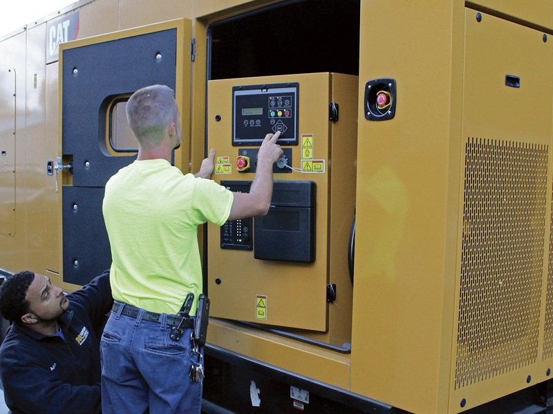 Commercial Generator Inspection