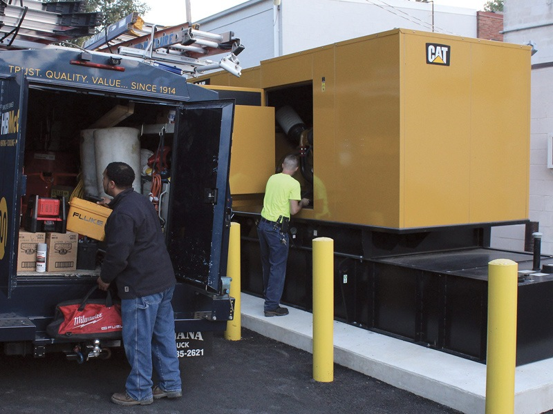 Commercial Generator Maintenance