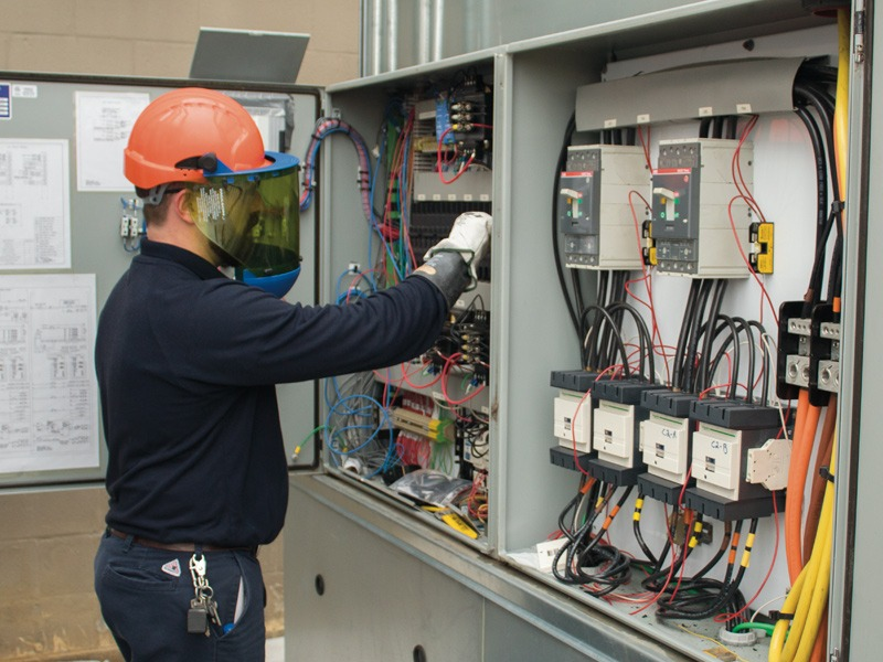 Industrial Electrical System Servicing