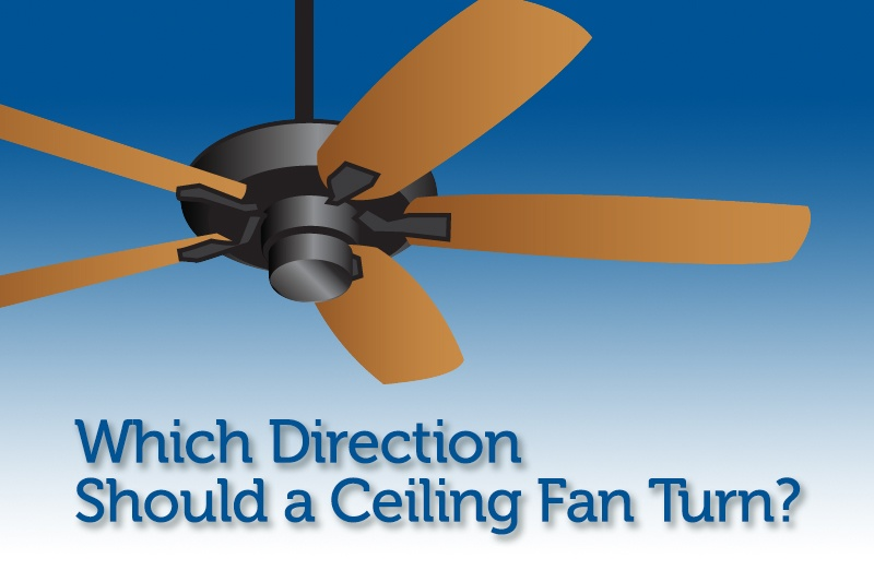 Which Ceiling Fan Direction