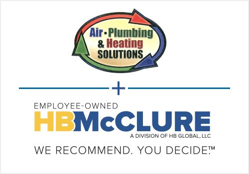 Maryland-based Air Solutions, LLC, Merges With HB McClure Company, LLC