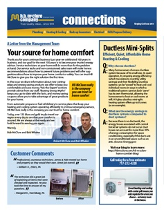 HB McClure Spring Newsletter 2015