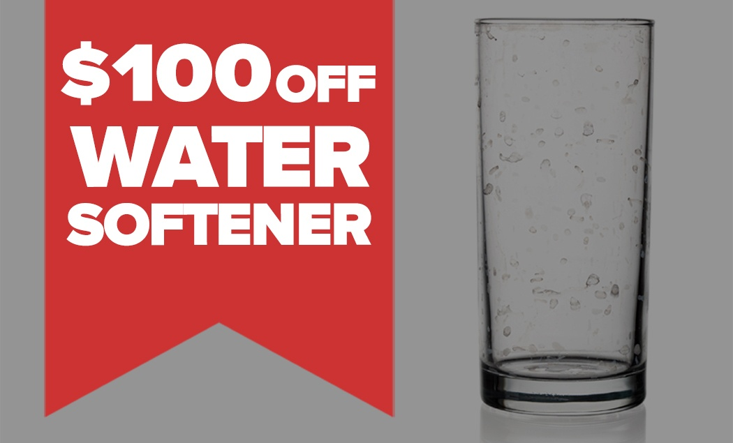 $100 OFF LX Series Water Softener
