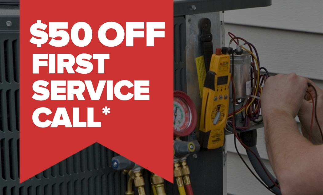 $50 OFF First Service Call
