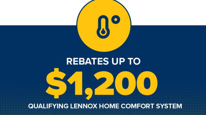 Save Up To $1,200 On Qualifying Lennox Home Comfort System
