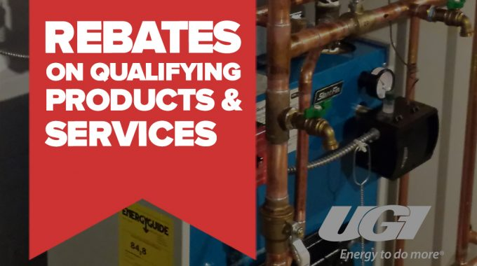 Rebates On Qualifying Products And Services