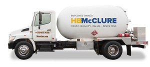 Propane Delivery from HB McClure