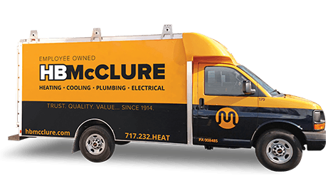 Call HB McClure for Heating Services in Dover
