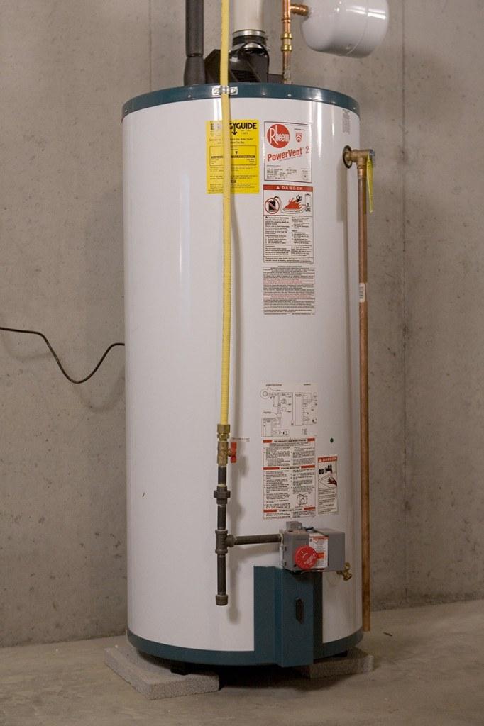 Equipment Installation - Hot Water Heater