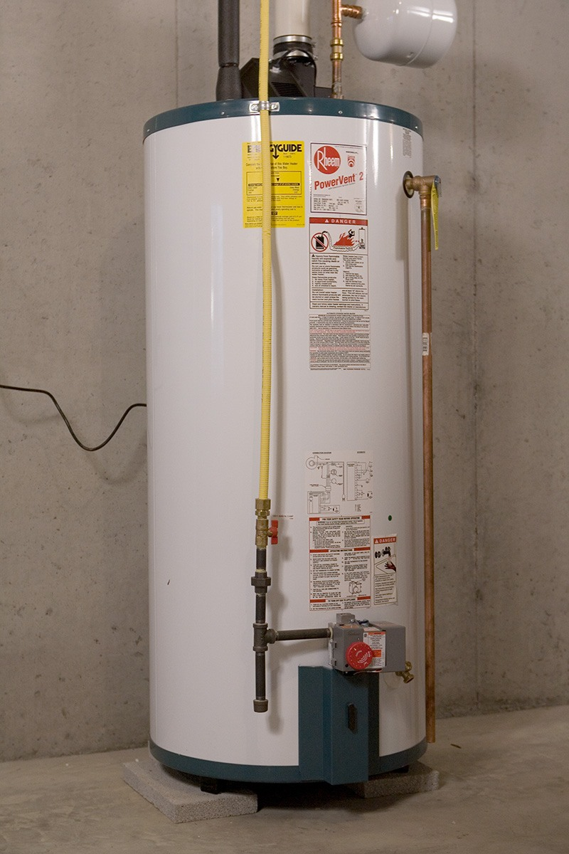 Equipment Installation - Hot Water Heater
