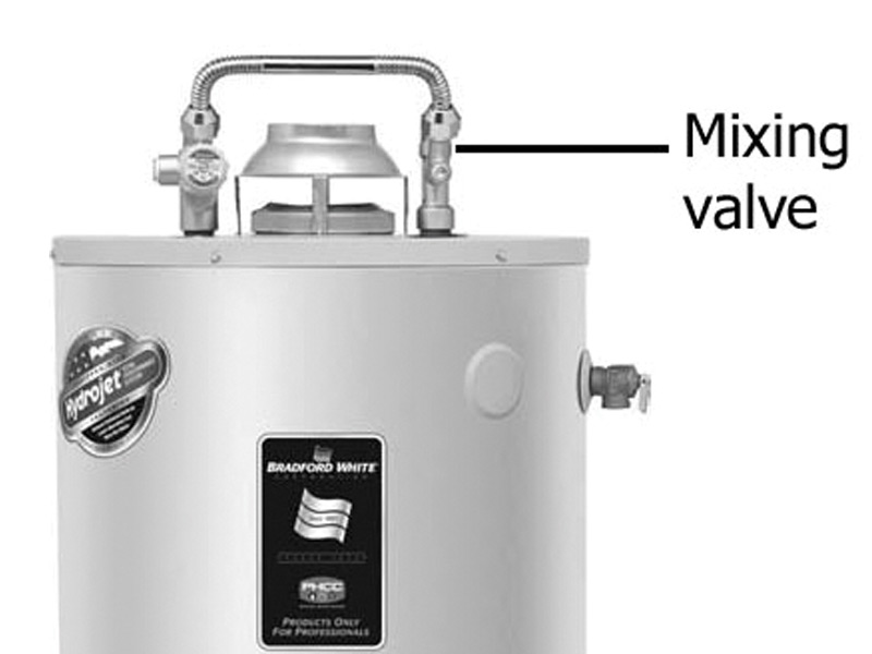 Hot Water Mixing Valves