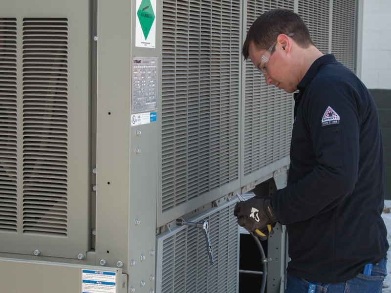 Industrial HVAC Packaged Unit Repair