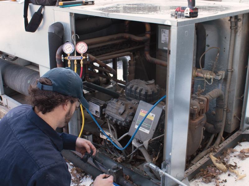 Commercial compressor servuce