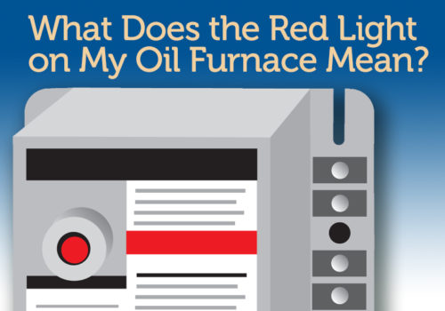 Oil Furnace Red Light