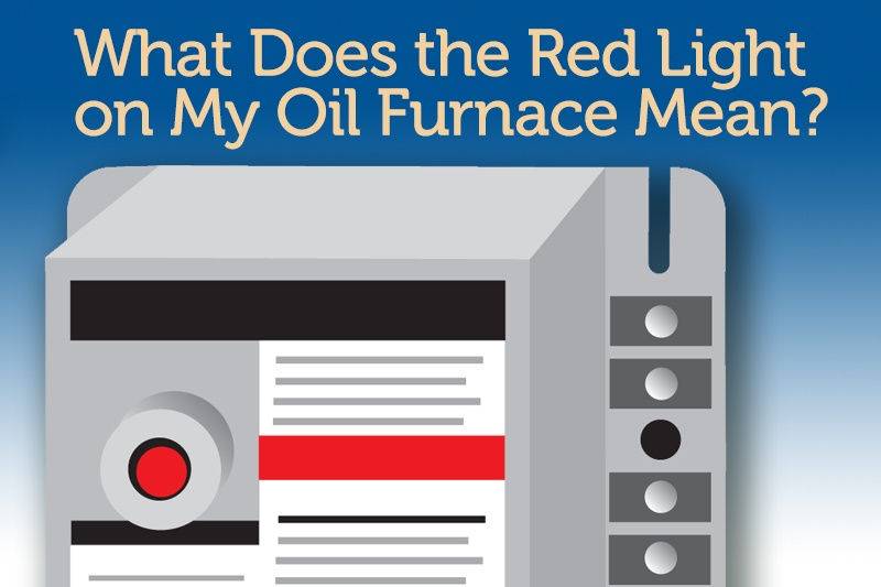 Oil Furnace Red Light