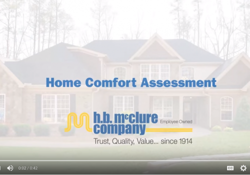 Home Comfort Assessment Service Overview