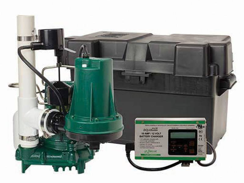 Standard Capacity Sump Pump With Battery Backup