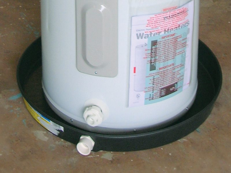 Water Heater Drain Pans