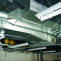 York College Commercial Duct Work