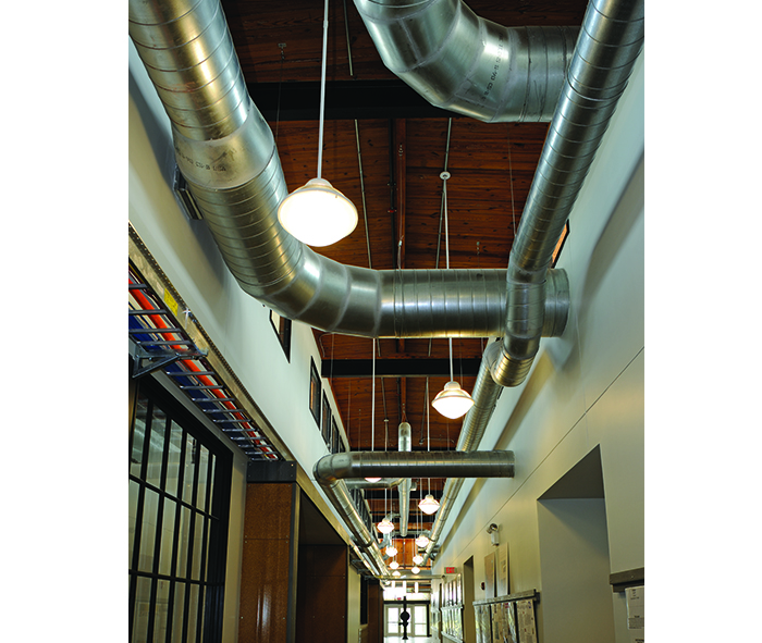 York College Commerical Duct Work