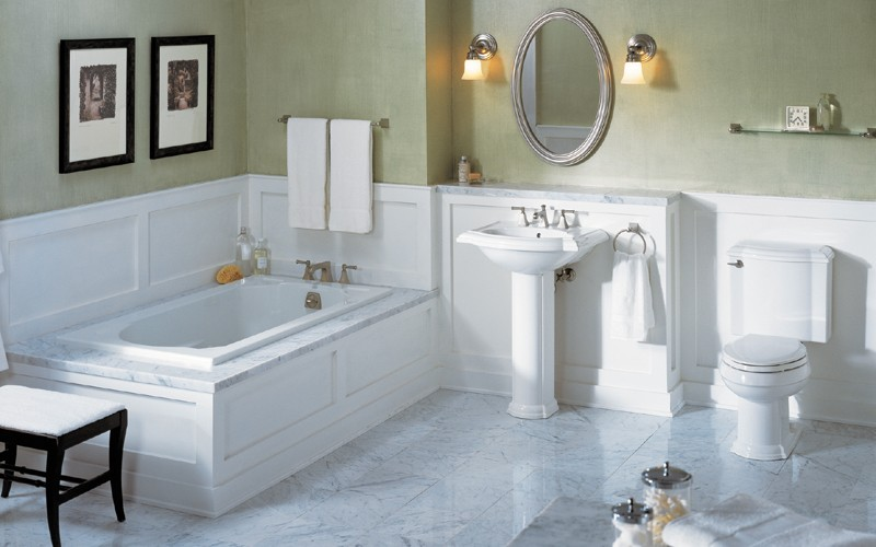 Residential Plumbing - Bathroom Remodeling