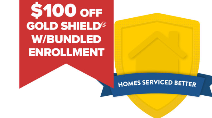 $100 Off With Bundled Gold Shield