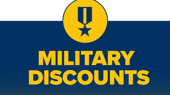 Military And Household Discounts