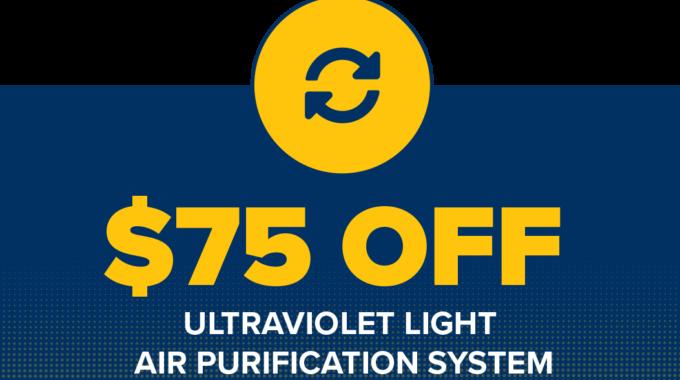 $75 Off A Uv Light UV Duo2000