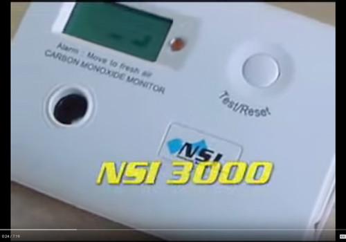 NSI 3000 Carbon Monoxide Detector