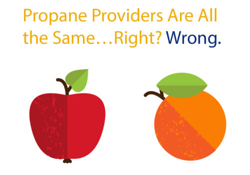 Propane Providers Are All The Same...right? Wrong.